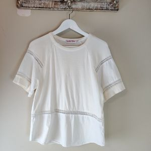 See by Chloe white top